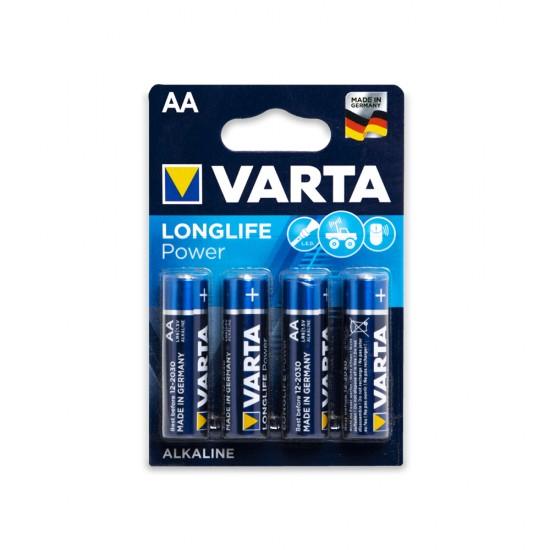 Batareyka Varta 4906 AA 4-lü Longlife Power