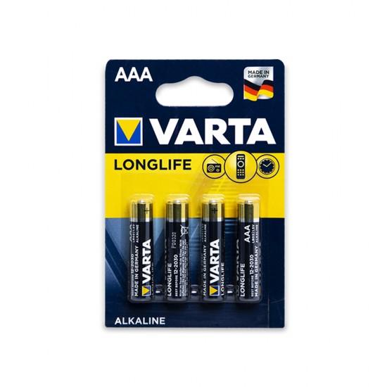 Batareyka Varta 4103 AAA 4-lü Longlife