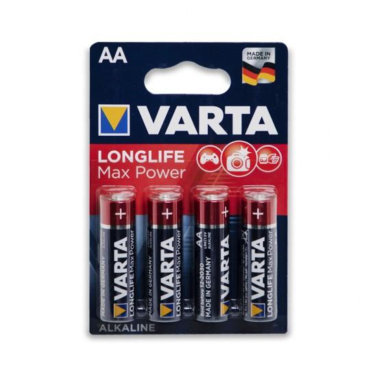 Batareyka Varta 4706 AA 4-lü Longlife Max Power