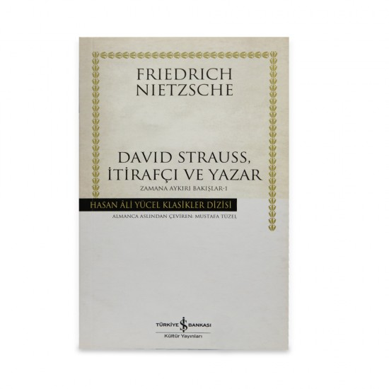 K.David Strauss (F.Neitzsche)