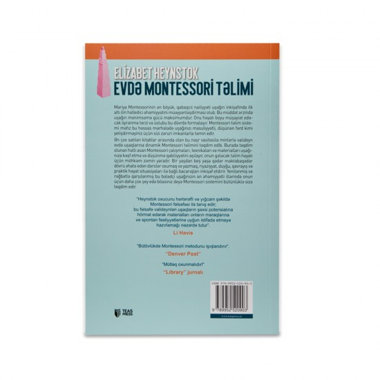 K.Evdə Montessori Təlimi (Elizabet Heynstok)