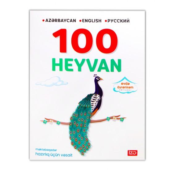 100 heyvan
