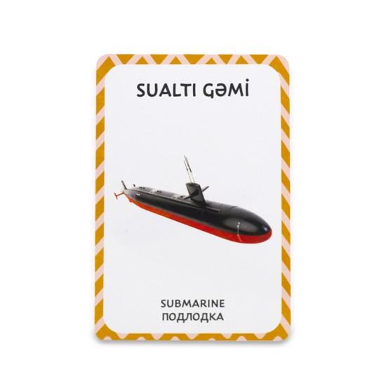 Şəkilli Kart Nəqliyyat vəsaitləri
