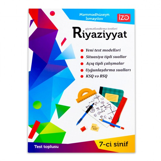 K.Riyaziyyat 7-ci sinif  Test toplusu(M.İsmayılov)