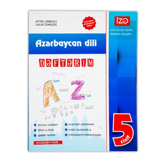 K.Azərbaycan dili Dəftərim 5-ci sinif (A.Abbaslı,L.Cümşüdi)