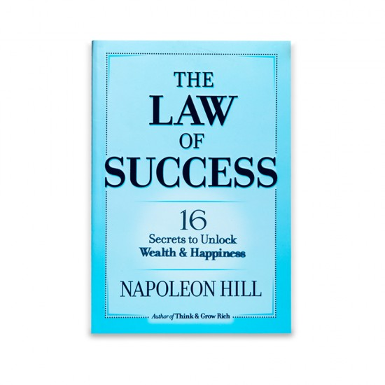 K.The Law Of Success (Napoleon Hill)