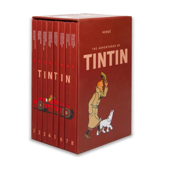 K.The adventures of Tıntın (1 to 8 pocked)