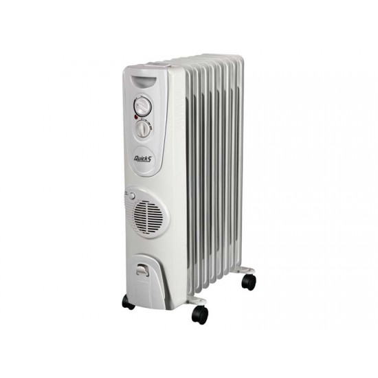 Radiator Q-545  9-lu  2400W ventilyatorlu