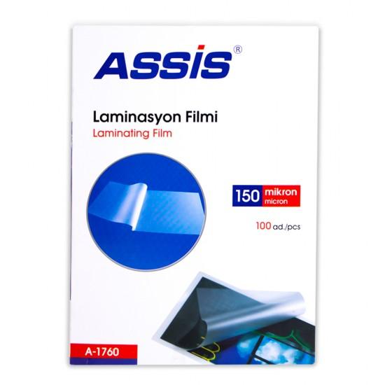 Laminasiya üzlüyü A4 A-1760 150mik(216*303)