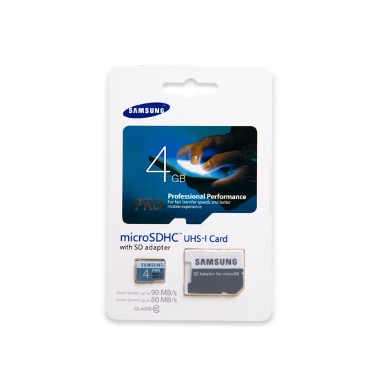 Micro card Samsung 4gb