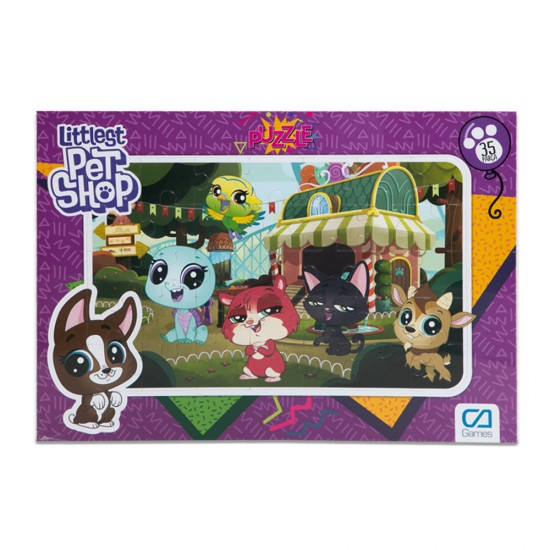Puzzle CA-5018/CA-5019 Littlest Pet Shop Frame  35-1/35-2