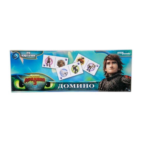 Puzzle Domino 80124 Kak Priruçit Drakona-3