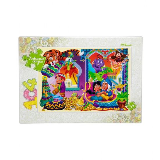 Mozaika Puzzle 82031 104ədədli Aladdin Lobimie Skazki