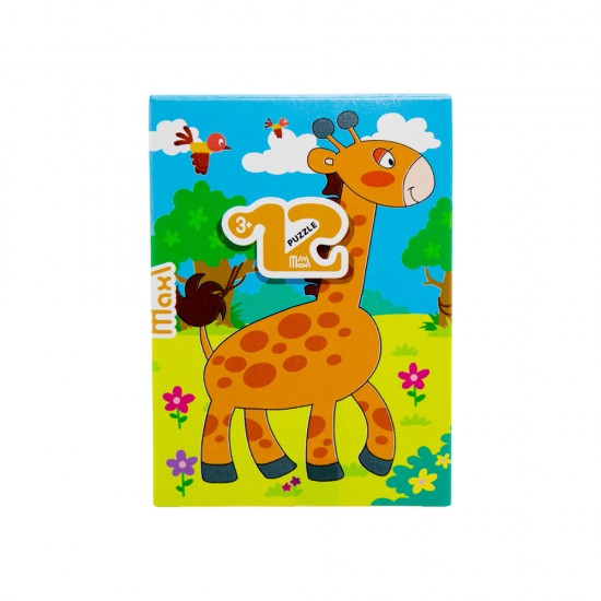 Mozaika Puzzle 86000 12ədədli  Jiraf (mini-maxi)