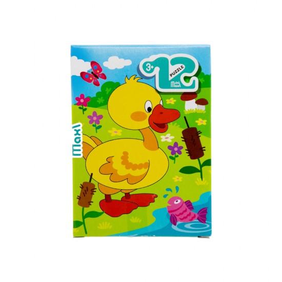 Mozaika Puzzle 86005 12ədədli Utenok (mini-maxi)