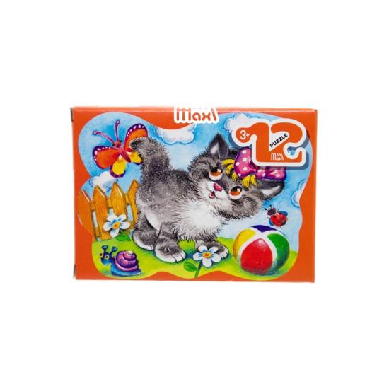 Mozaika Puzzle 87001 12ədədli Kotik (mini-maxi)