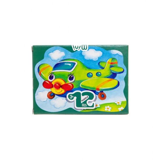 Mozaika Puzzle 87005 12ədədli  Samolötik (mini-maxi)