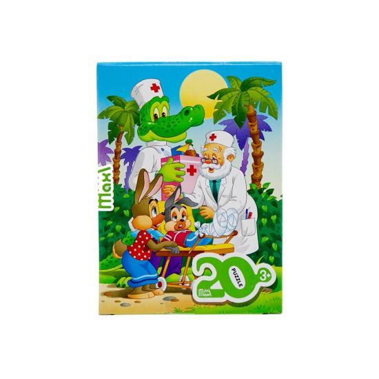 Mozaika Puzzle 88000 20ədədli Aibolit (mini-maxi)