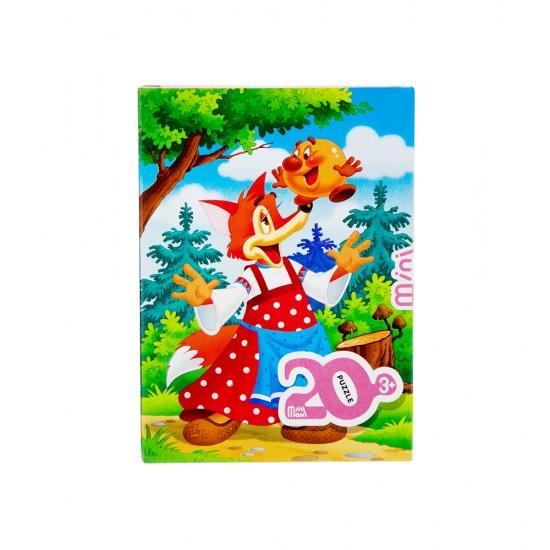 Mozaika Puzzle 88002 20ədədli Kolobok (mini-maxi)