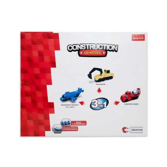 Oyuncaq Magnetic Car 3in1 77800-3