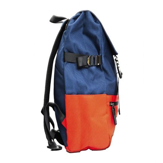 Çanta məktəbli i-5662 tünd göy-qırmızı