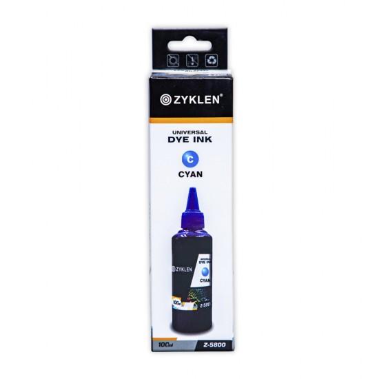 Boya universal Z-5800 100ml Cyan mavi