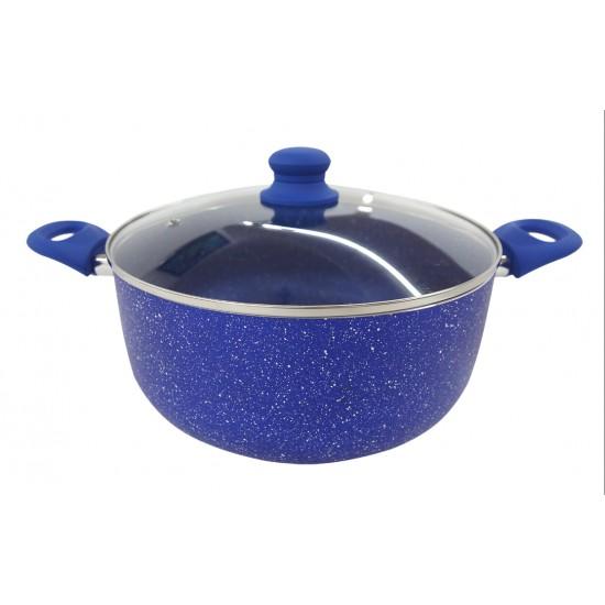 Qazan FR-4195 28sm mavi