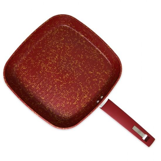 Tava FR-6315 28*28 qırmızı 4-künc