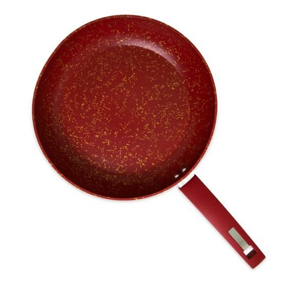 Tava FR-6325 28sm dərin qırmızı