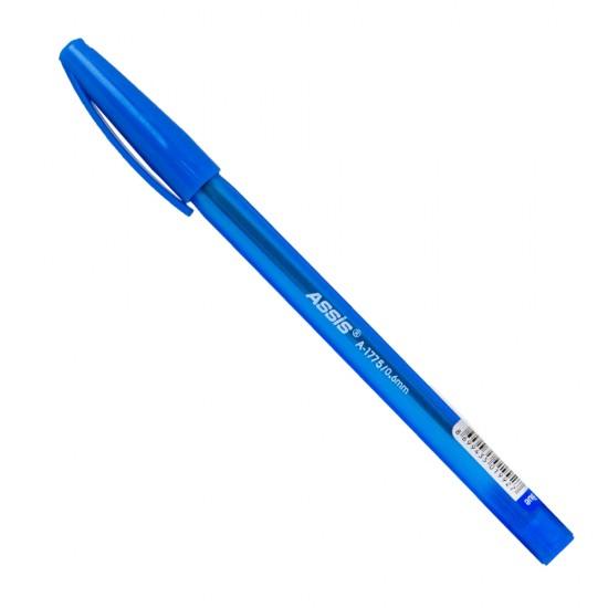 Qələm A-1775 0.6mm mavi