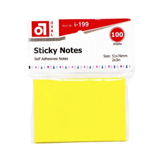 Qeyd kağızı notes A-199 (51x76) 100 ədədli