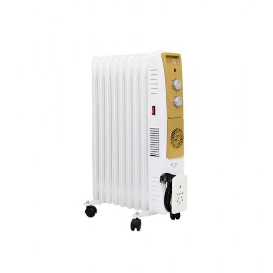 Radiator Q-4230/9/F  9-lu  2000W ventilyatorlu
