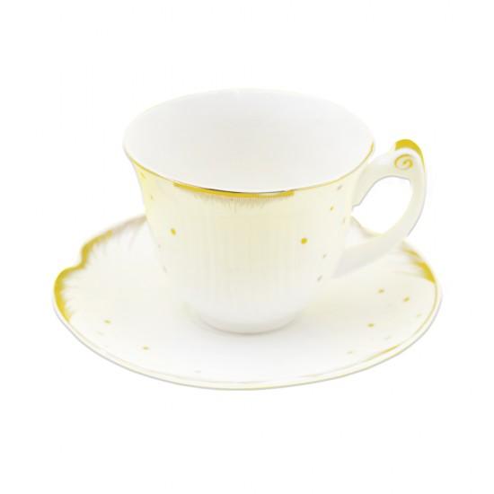 Çay dəsti  D-403 qızılı 12 ədədli