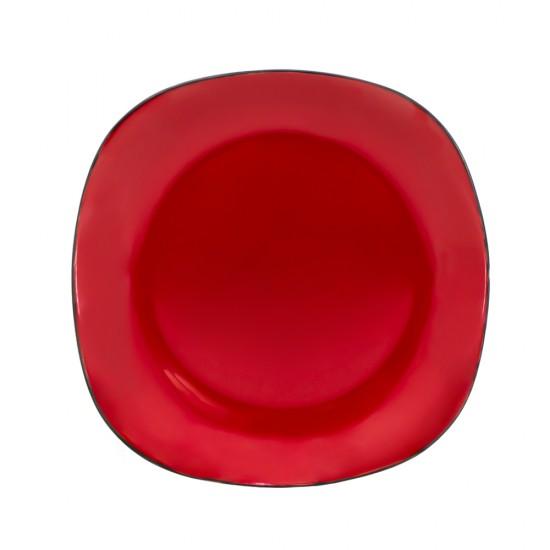 Nahar dəsti E-628  6 ədədli qırmızı